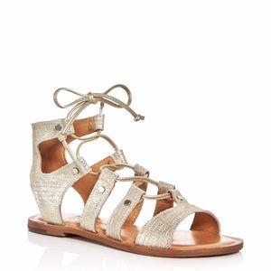 a0bb4e0b79d Dolce Vita · Dolce Vita Juno Light Gold Lizard Gladiator Sandal